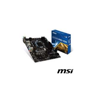 MSI微星 B250M PRO-VDH 主機板