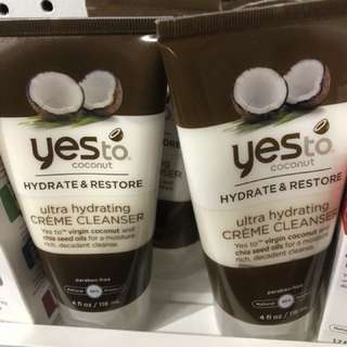 Yesto cream cleanser