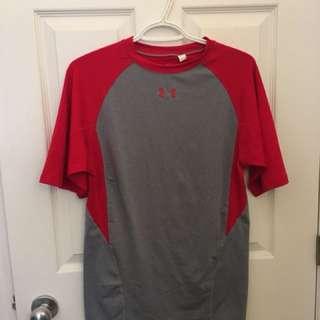 Men's UA loose fit small shirt