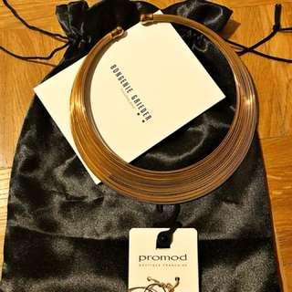 Fancy Necklace (luxe from Bon génie) & Promod earrings