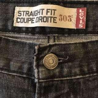 Men's 505 Levi Jeans