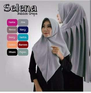 KDH - 0118 - Kerudung Hijab Instant Selena