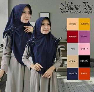 KDH - 0118 - Kerudung Hijab Instant Meliana Pita