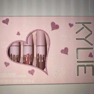Kylie Jenner birthday collection mini matte liquid lipstick set