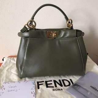Used authentic Fendi Peekaboo mini