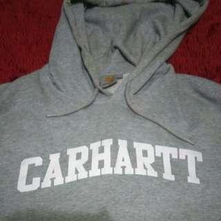 CARHARTT COLLEGE HOODIE MISTY