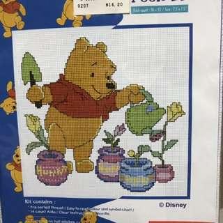 Cross Stitch, Winnie the Pooh kit