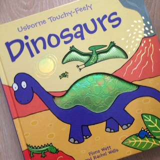 Touchy feels Dinosaurs book