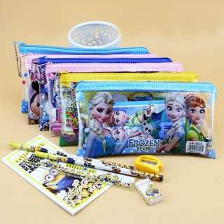 Pouch Stationary Set