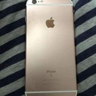 IPhone 6s Plus  64gb gold rose 玫瑰金