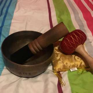 Singing Bowl (Handcrafted in Nepal)