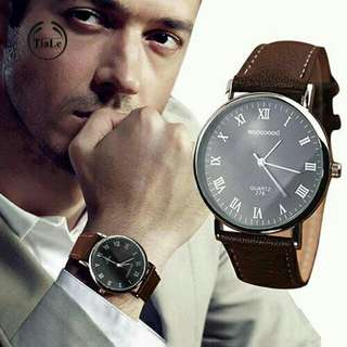 Roman Numerals Business Wrist Watch