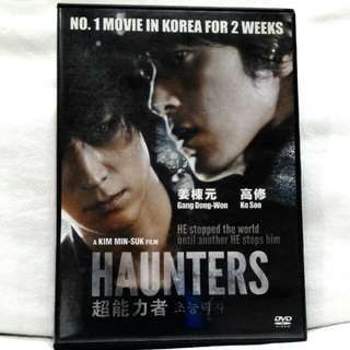 HAUNTERS (Korean Movie DVD)