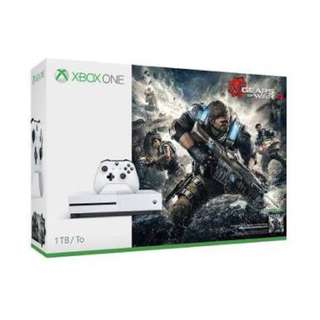 Xbox One S 1 Tb Bundled with Gears of war with Gta V