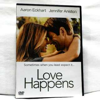 LOVE HAPPENS (Starr'g Jennifer Aniston, Aaron Eckhart)