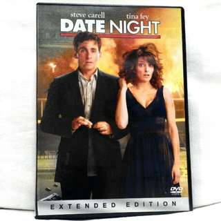DATE NIGHT (Starring Steve Carell, Tina Fey)