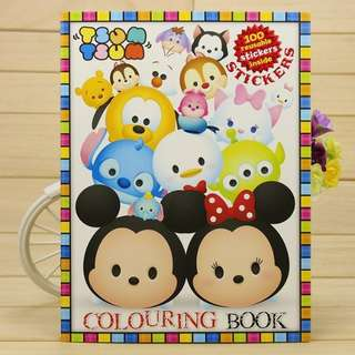 Colouring Sticker Book