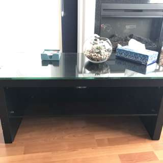 Glass Top Coffee Table/Media Stand