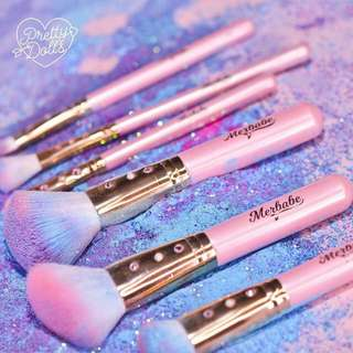 Makeup Brushes set with shell bag