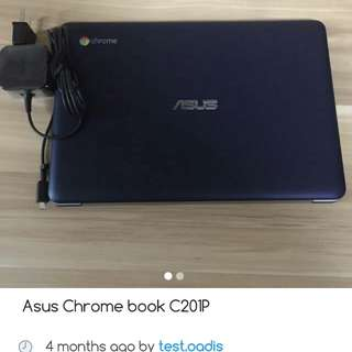 Asus chrome book