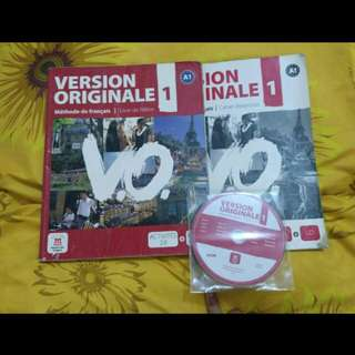 VERSION ORIGINALE METHODE DE FRANCAIS+CD