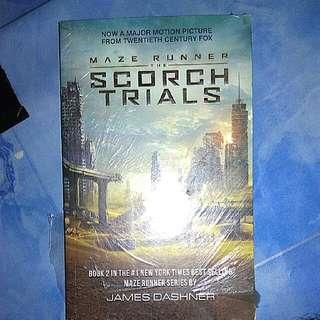 Maze Runner The Scorch Trials - James Dashner