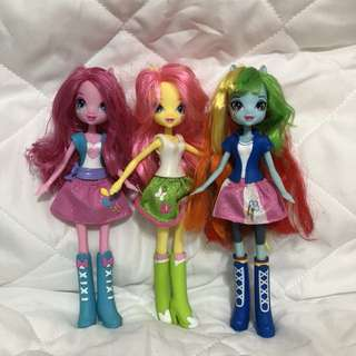 WTS mlp my little pony equestria girl dolls