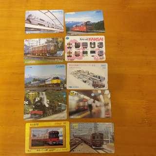 日本車票全套包郵