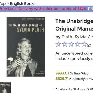 The Unabridged Journals of Sylvia Plath 1950-1962 : Transcripts from the Original Manuscripts at Smith College (Unabridged)