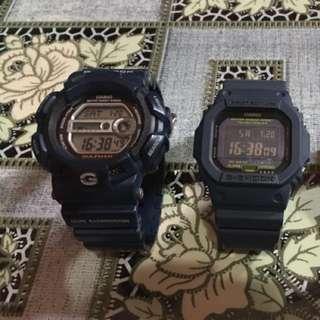 Wts casio g-shock G9100 & G5600NV