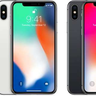 Csl 購買全新apple iPhone X 256GB 黑白兩色任揀仲要跟單有保養再包送貨 只售$9388