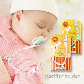 GreatFun BABY Pacifier teether Clip Holder