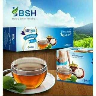 Mangosteem slimming tea