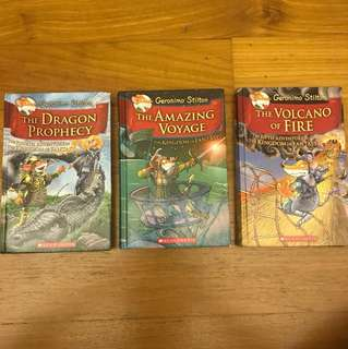 Geronimo Stilton Books (Hardcover)