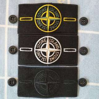 386 Stone Island Patches