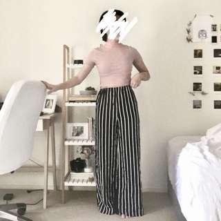 Modern stripe pants