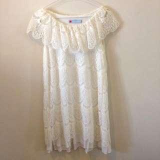 white Dress Brand SoleMio