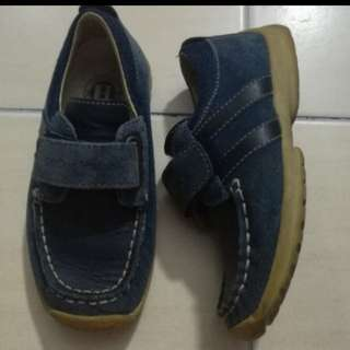 Dor Dor Horse Leather Boy Shoes #fesyen50