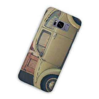 VW Volkswagen Beige Samsung Galaxy S8 Custom Hard Case