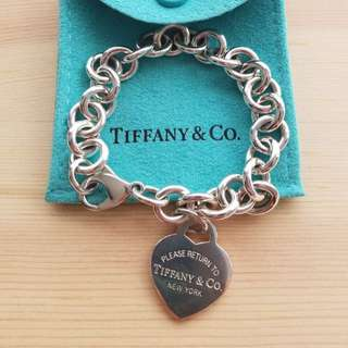 Tiffany Return to Tiffany Heart Tag Charm Bracelet