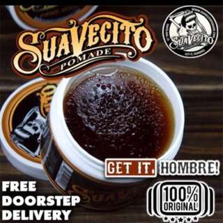 Today Late Evening Free Doorstep Delivery 📦 [Suavecito Firme Hold Pomade Waterbased]