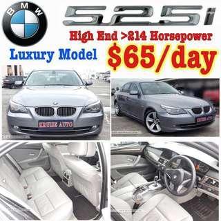 BMW 525i Rental Rent Car Lease Uber Grab Wedding (Not BMW 318 318i 325 325i 520 520i 525 525i 530 530i Mercedes Benz Lexus Volvo Estima Toyota Honda LCR Airport Transfer )
