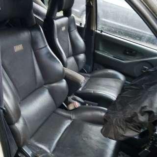 AAR original japan leather racing sport seat