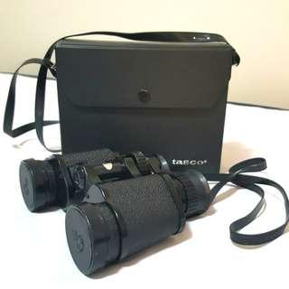 Tasco Binoculars 7x-15x35 with bag