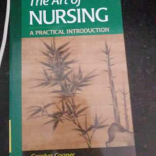 Nursing text - the art of nursing