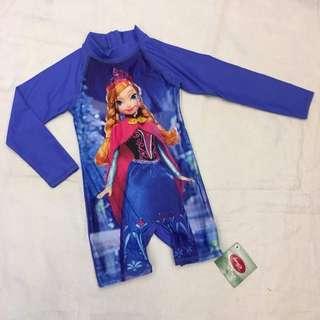 Frozen Romper Overall Rashguard Swim Suit Wear