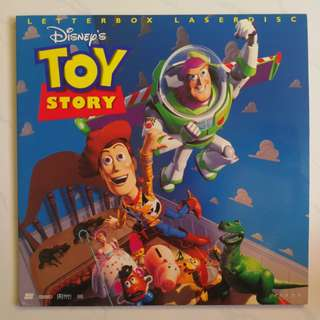 Toys story Cinderella laser disc as it is