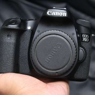 Canon eos 70d WIFI body only mulus