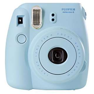 Light Blue Instax 8 Camera