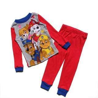 BN Paw Patrol Pyjamas Boy Girl Sleepwear 3/4/5T